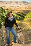 Kerry Shiels, Dubral Vineyard, Rattlesnake AVA, Washington