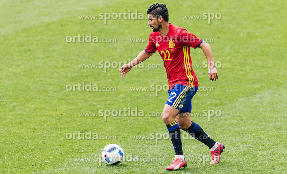 01.06.2016, Red Bull Arena, Salzburg, AUT, Testspiel, Spanien vs Suedkorea, im Bild Nolito (ESP) // Nolito of Spain during the International Friendly Match between Spain and South Korea at the Red Bull Arena in Salzburg, Austria on 2016/06/01. EXPA Pictures © 2016, PhotoCredit: EXPA/ JFK