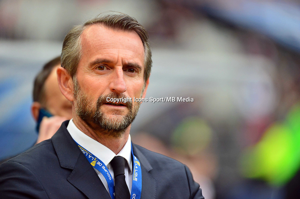 Jean Claude BLANC    - 11.04.2015 -  Bastia / PSG - Finale de la Coupe de la Ligue 2015<br />