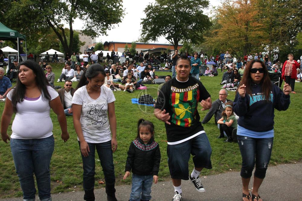 3rd Annual Live Aloha Hawaiian Cultural Festival at Seattle Center on September 12, 2010.