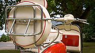 Vintage Lambretta Scooter.