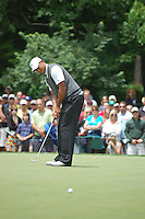 Tiger Woods at the 2009 Memorial Tournament in Dublin, Ohio.
