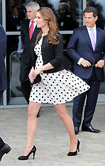 APR 26 2013 Duchess of Cambridge at the Warner Bros. Studios