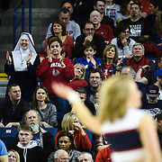 Gonzaga beat Santa Clara 90 - 55 on February 4th, 2017 at the McCarthey Athletic Center to continue their undefeated streak to 24 games. (Photos by Edward Bell)
