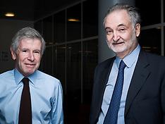 Jacques Attali et Alain Minc (Paris, Nov. 2011)