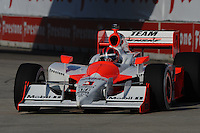 Helio Castroneves, Detroit Indy Grand Prix, Bell Isle, Detroit, MI  USA  8/31/08