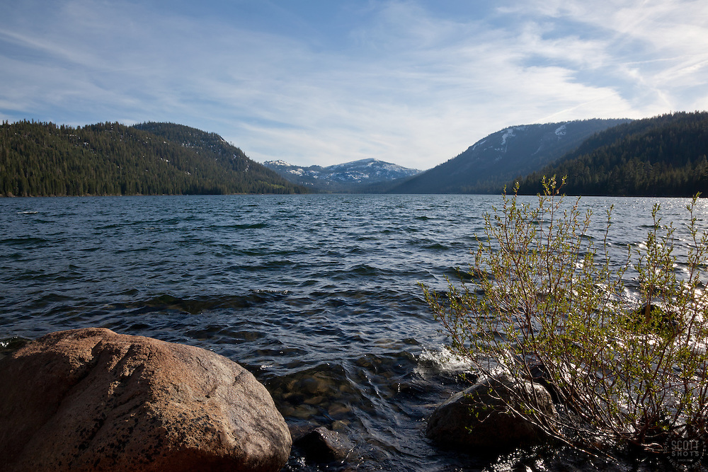 """Independence Lake, CA"" - This scenic photograph was shot at Independence Lake, California."