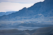Ridges and gullies a the foot of Factory Butte, Southern Utah