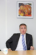 Richard Lochhead (Cabinet Secretary for Rural Affairs and the Environment) visit to Vion Food Group's Coupar Angus processing plant. Richard Lochhead