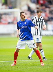 Cowdenbeath's Craig Johnston. <br /> Dunfermline 5 v 1 Cowdenbeath, Scottish League Cup game played today at East End Park.