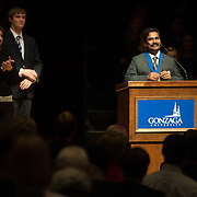 OPUS Prize Night 2014 at the reception and presentation.