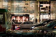 Louis Vuitton store, Pidder street, Hong Kong.