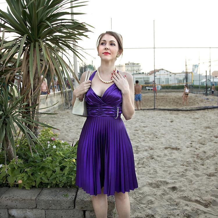 """Burlesque Voodoo"" Subculture of Neo Retrò Italian tribes, 2010"