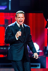 ANAHEIM, CA - SEP 13: Singer/songwriter Mexican superstar Luis Miguel performed an amazing show at the Honda Center on 13 September, 2015 in Anaheim, California USA. Byline, credit, TV usage, web usage or linkback must read SILVEXPHOTO.COM. Failure to byline correctly will incur double the agreed fee. Tel: +1 714 504 6870.