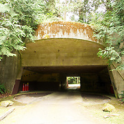 Camp Hayden, near Ford Worden Coastal Gun Battery.  Port Townsend, Washington State, USA.