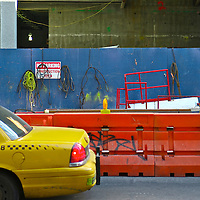 Street scene in Manhattan