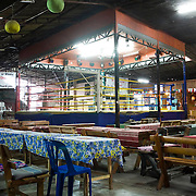 A Thai kickboxing rink on the outskirts of Bangkok.  Image © Angelos Giotopoulos/Falcon Photo Agency