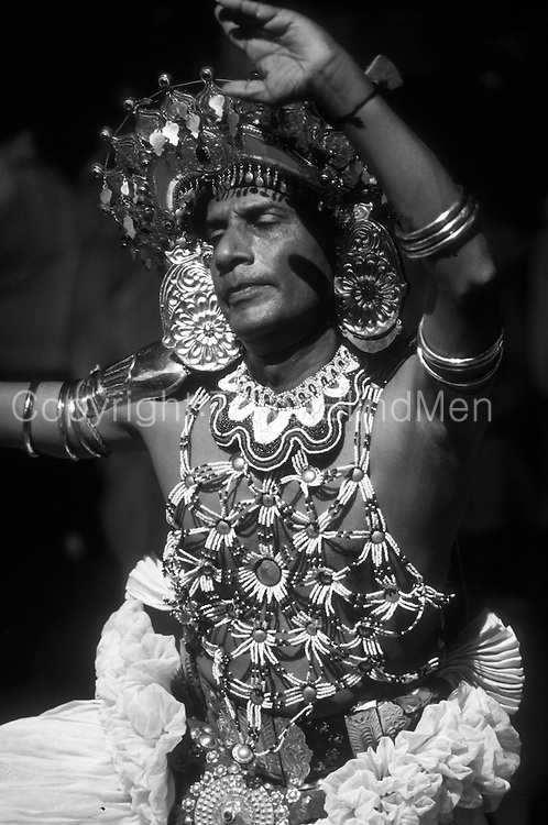 Dancer at Kandy Perahera in Ves costume.