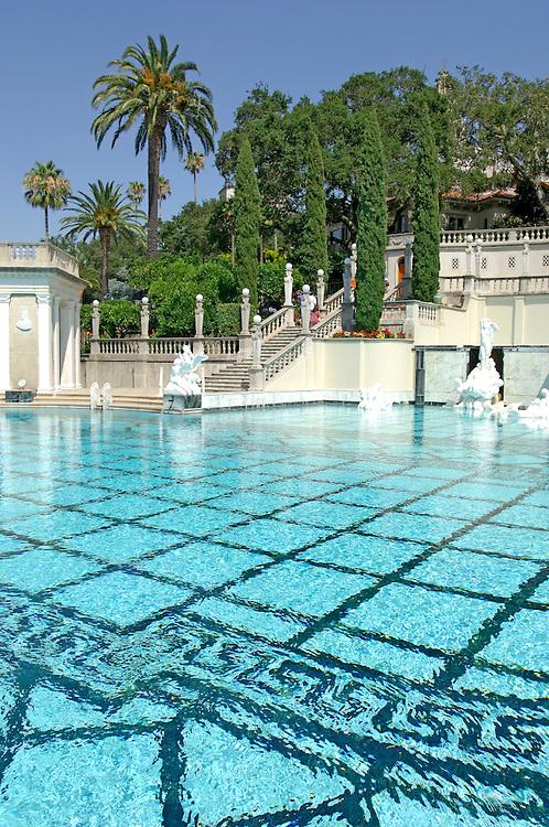 Neptune Pool at Hearst Castle State Park, San Simeon, California, United States of America