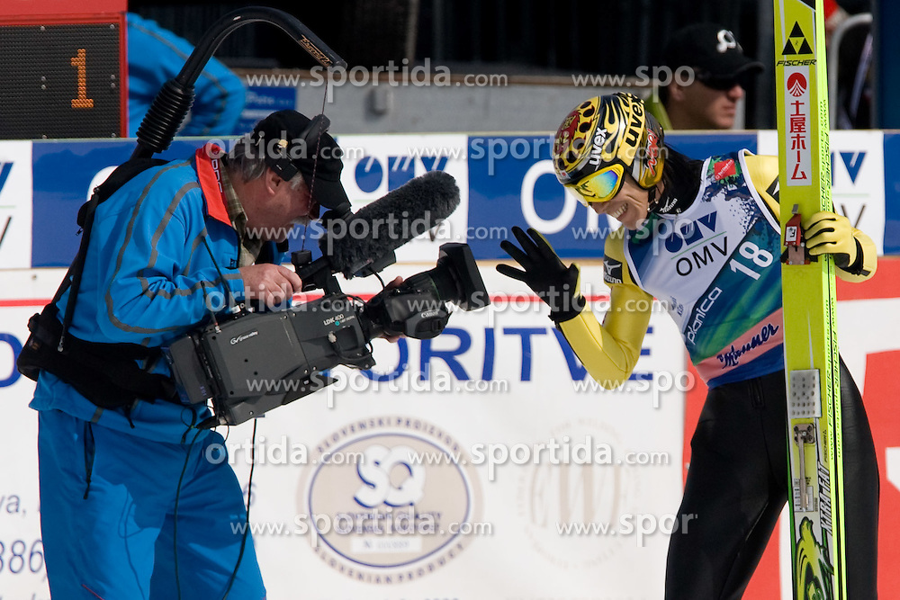 KASAI Noriaki, Tsuchiya Home, JPN  during Flying Hill Individual Fourth Round at 3rd day of FIS Ski Flying World Championships Planica 2010, on March 20, 2010, Planica, Slovenia.  (Photo by Vid Ponikvar / Sportida)