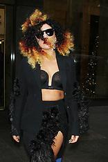 DEC 02 2014 Lady Gaga at SiriusXM studios
