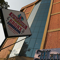 Kingfisher beer sign. Chennai is the third largest commercial and industrial centre in India. It is considered to be the automobile capital of India, with a major percentage of the country?s automobile industry having a base in the city. Chennai is the second-largest exporter of IT services in India, behind Bangalore and is a base for the manufacture of hardware and electronics, with many multinational corporations setting up plants in its outskirts. The city faces problems with water shortages, traffic congestion and air pollution.