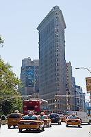 Flatiron building in New york City in October 2008