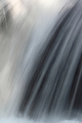 Close-up of a waterfall on the way to the larger Myra Falls in Strathcona Provincial Park, Vancouver Island