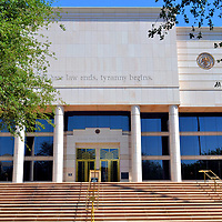 Arizona State Courts Building in Phoenix, Arizona<br />