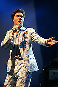 Rufus Wainwright on the Pet Sounds Stage, Saturday at T in the Park 2007..©Pic : Michael Schofield..