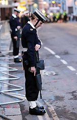 APR 15 2013 Rehearsal for Baroness Thatcher funeral