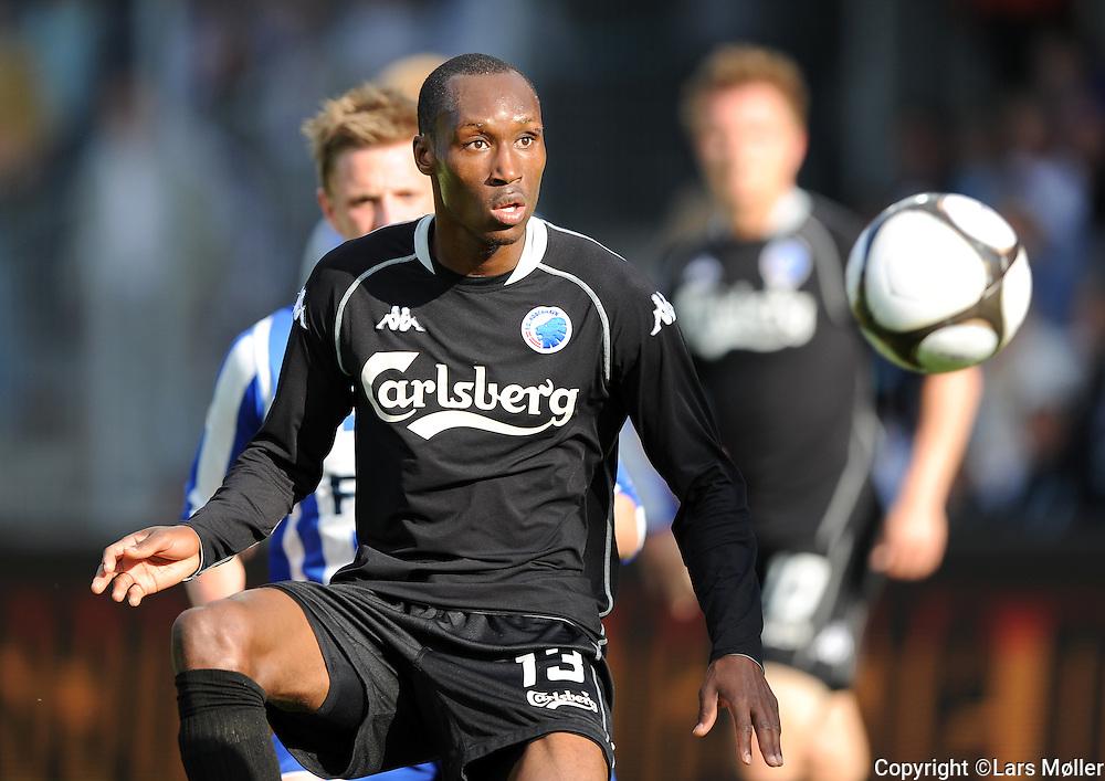 DK Caption:<br /> 20090524, Esbjerg, Danmark:<br /> SAS Liga fodbold Esbjerg - FC K&oslash;benhavn:<br /> Atiba Hutchinson, FCK.<br /> Foto: Lars M&oslash;ller<br /> UK Caption:<br /> 20090524, Esbjerg, Denmark:<br /> SAS Liga football Esbjerg - FC Copenhagen:<br /> Atiba Hutchinson, FCK.<br /> Photo: Lars Moeller
