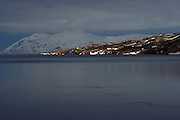 Images from the fjord area around the airport at Akureyri, in northern Iceland, taken in March 2009