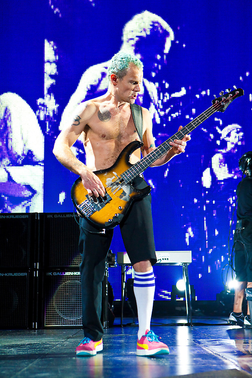The Red Hot Chili Peppers appearing at The Prudential Center, May 4, 2012