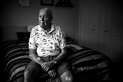 William DeShazer/Staff<br /> Russel Winsett, 93, of Bonita Springs, was raised in Hamilton, Ala. His family worked as sharecroppers. After graduating from high school in 1939 and realizing that wasn&rsquo;t the life he wanted, Winsett enlisted in the Navy.<br /> <br /> Little did he know that decision would make him a part of one of the deadliest attacks in U.S. history.<br /> <br /> Winsett was a machine-gunner on the USS Pennsylvania at Pearl Harbor. His ship was in dry dock when he felt the explosion&rsquo;s shake from below deck Dec. 7, 1941. As he came topside, it was right there he saw two ships receive direct hits.<br /> <br /> &ldquo;I lost a lot of good buddies there,&rdquo; Winsett said. &ldquo;I wouldn&rsquo;t want anybody to go through what I went through.&rdquo;<br /> <br /> He climbed to the top of a machine gun nest on the ship, broke a locked ammunition box, and began to return fire on the Japanese aircraft.<br /> <br /> Winsett said they were flying so close he could see their eyes.<br /> <br /> Winsett went on to serve his country in the South Pacific and saw firsthand soldiers plant the flag on Mount Suribachi on Iwo Jima.