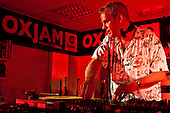 DJ Fatboy Slim, Oxjam, London.