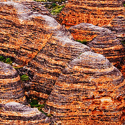 A close-up view of the beehives at the Bungle Bungles in Purnululu National Park in Western Australia's East Kimberley region.