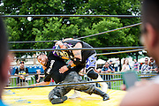 Lucha libre at day two of Ruido Fest.