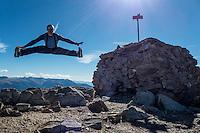 Hiking in Andorra - mounatin bagging: Pic de Casamaya 2 740 msl