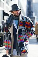 Print Coat, Outside Calvin Klein FW2015