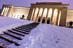 South side of the Nelson Atkins Museum of Art in Kansas City, MO.