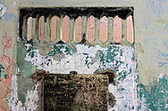 Wall in Playa Baracoa, Artemisa, Cuba.