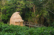 Guest cabin<br /> Ngaga Camp<br /> Republic of Congo (Congo - Brazzaville)<br /> AFRICA