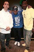 l to r: Dru Ha, Buckshot and Corey Smyth at BlackSmith Music Presents Talib Kweli, Pete Rock, & Smif n Wesson(Buck Shot & Stelle) at The American Museum of Natural History on June 27, 2008..BlackSmith Music comes out swinging with ground breaking HipHop Concert series at the world reknowned The Museum of Natural History.Blacksmith Music Corp established in 2006 as a label to combat the norm, the norms being mainstream music as well as underground. As those segments of music attack each other over what quality music should be, Blacksmith shows the world what quality music is. It?s opening roster of artists, Talib Kweli, Jean Grae, and Strong Arm Steady.