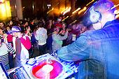 DJ Goldenchyld at Left Coast Live, San Jose