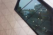 Exterior of the Daniel Libeskind designed London Metropolitan University's modern Graduate Centre...