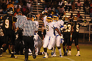 Oxford High's D.J. Blake (9) vs. Charleston in Charleston, Miss. on Friday, August 26, 2011. Oxford won.