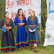 Demonstrasjon mot Fosen Vind, Storheia 20.08.2016