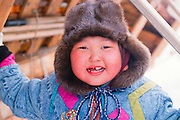 Barrow, Alaska. Young native girl.