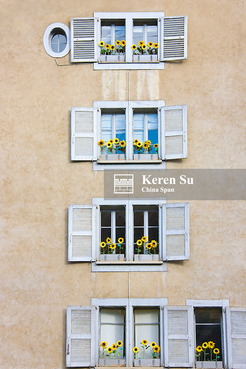 Old house, Geneva, Switzerland